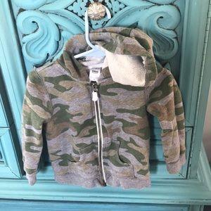 Carter's 24 month zip up hoodie.